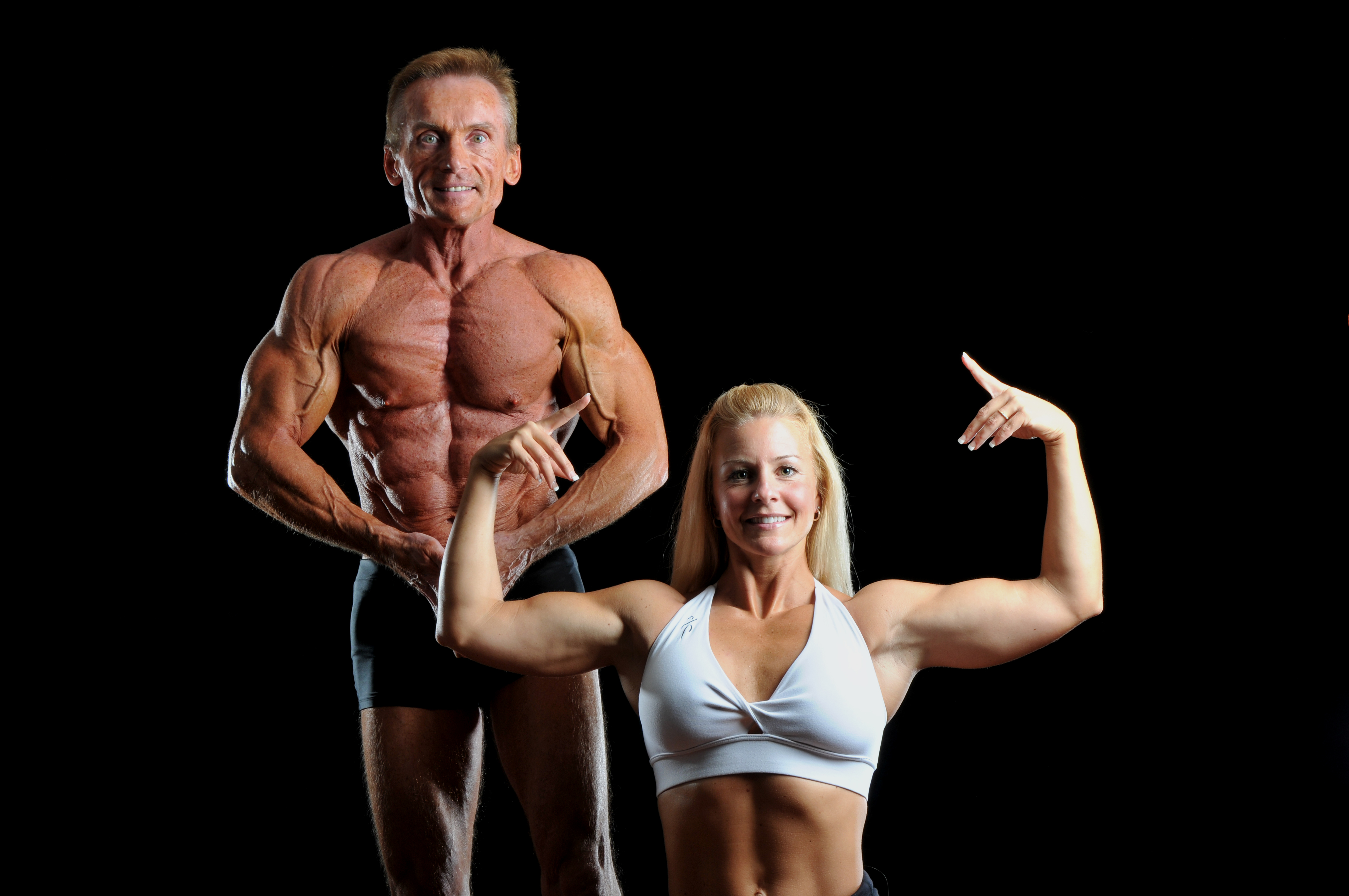 Rival Any Competitive Model or Bodybuilder Half Their Ages