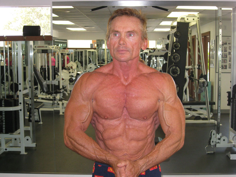 Fit Body in his 50s